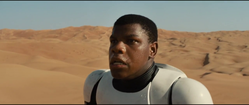 Star Wars Trailer - John Boyega