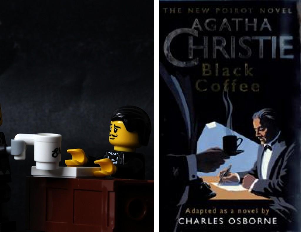 Black Coffee Agatha Christie Lego
