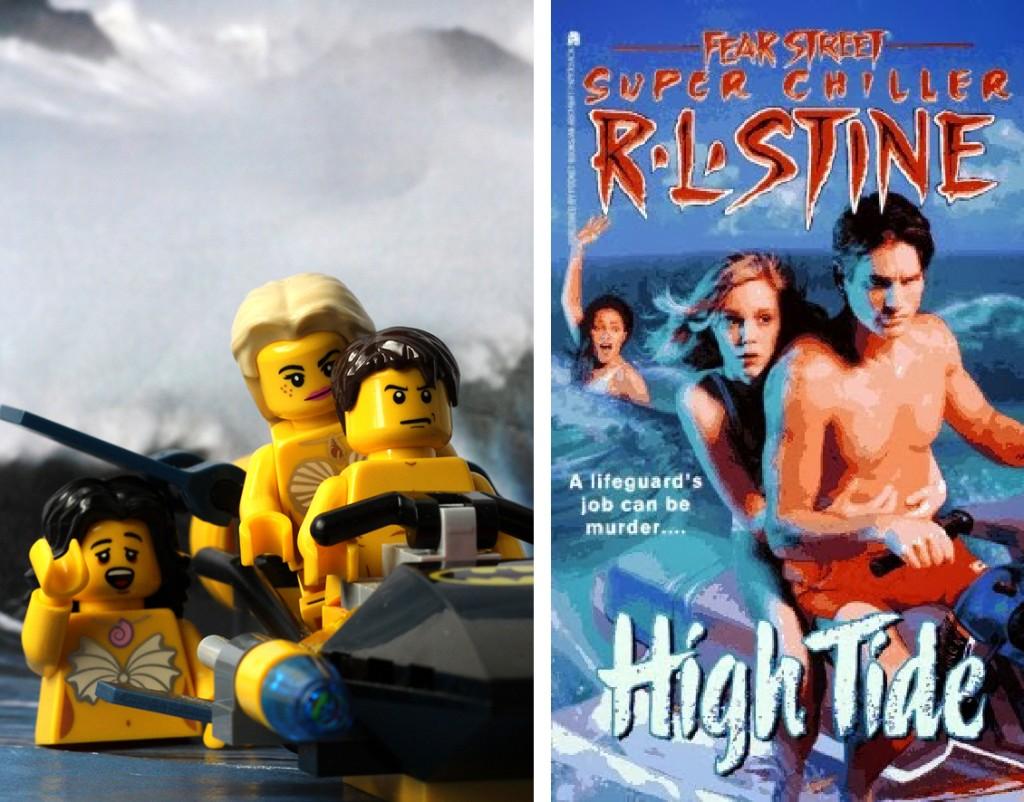 R.L Stine High Tide Lego