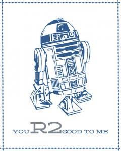 R2 Valentine Card