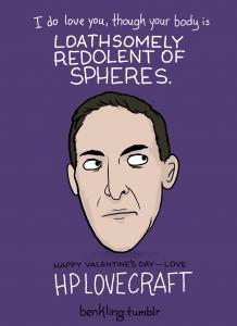 HP Lovecraft Valentine