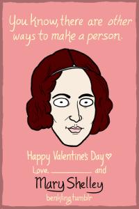 Mary Shelley Valentine