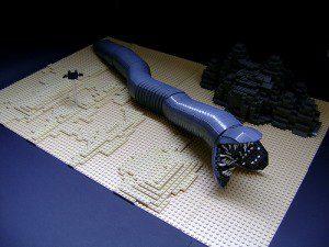 Lego Dune Sandworm
