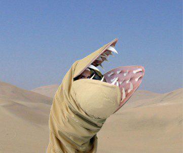 Sandworm Costume Dune 1
