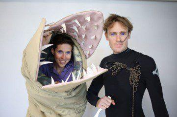 Sandworm Dune Costume 2