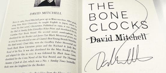 Win a signed copy of David Mitchell's The Bone Clocks!