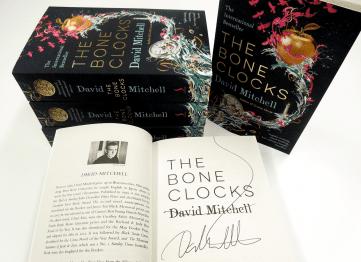Signed David Mitchell Bone Clocks