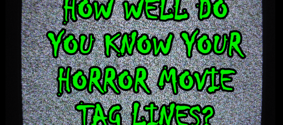 Quiz: how well do you know your horror movie tag lines?