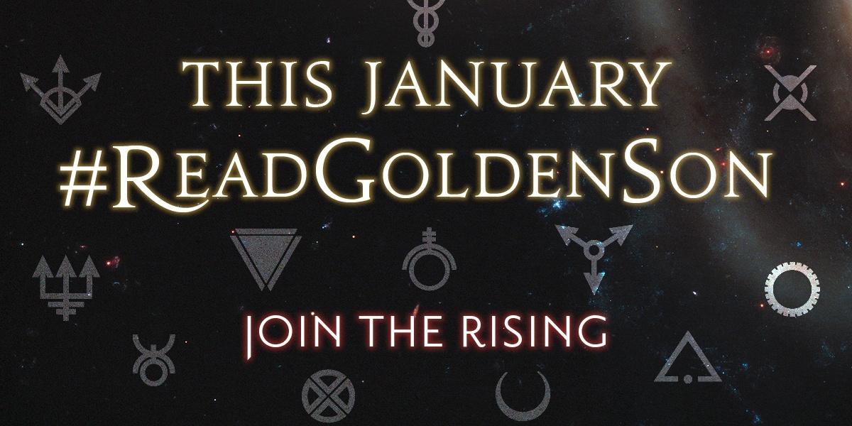 Golden Son Read Along Banner
