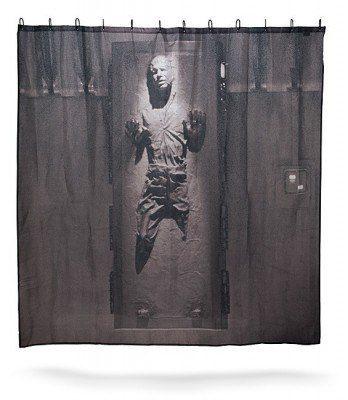 Han Solo Shower Curtain