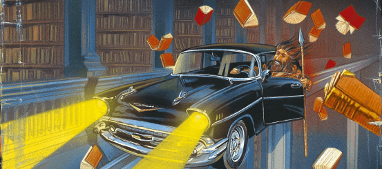 Friday Favourites: Fictional Libraries