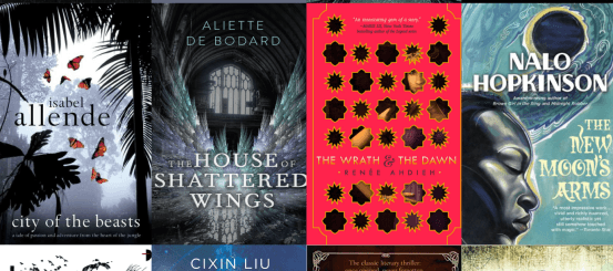 Around the world in 18 science fiction and fantasy novels