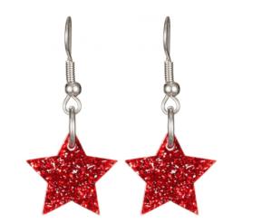 Tatty Devine star earrings