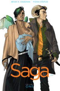 Saga Comics Fiona Staples Brian K Vaughan