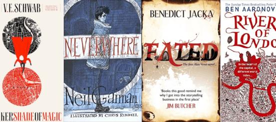 5 Urban Fantasy novels set in London