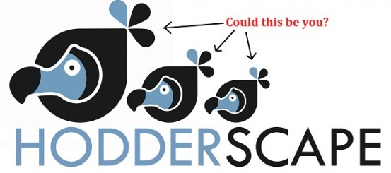 Hodderscape Wants You!