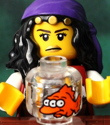 Eight classic covers re-created with LEGO!