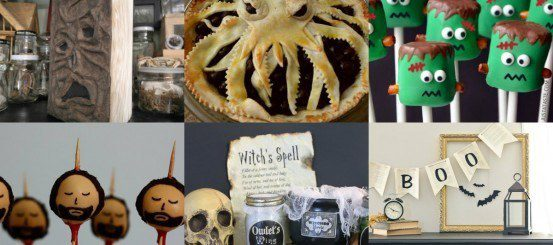 Halloween crafts for book lovers