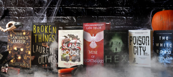 The Hodderscape Team pick their favourite books for Halloween