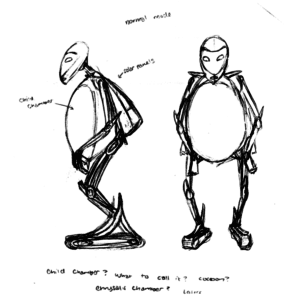 #2 - Early Concept, Standing